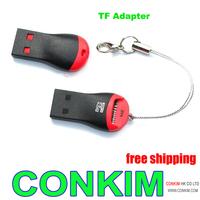 USB 2.0 MicroSD T-Flash TF M2 Memory Card Reader Free Drop Shipping