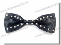 Ribbon bow craft accessories with pearl for garment