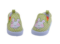 Lovely Rabbit Printed Baby Girl Spring Autumn Sneaker Shoes Children Toddler Breathable Sports Shoes 1pair Free Shipping TXB-044