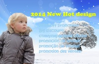2014 New Silvery baby coat/Wadding cotton baby coat with cap