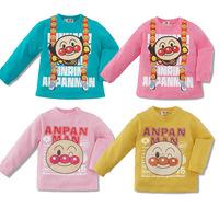 5 PCS / LOT  Wholesale 2015 New Children's Clothing Baby Boy T-shirt Long sleeve Shirts Spring Girls Tops bread superman Cartoon