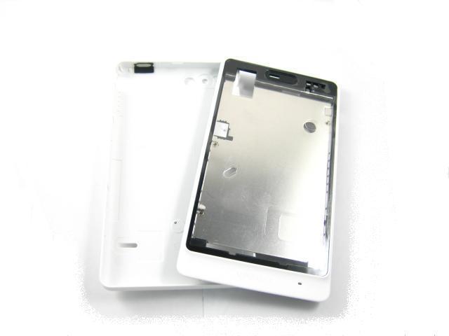 Замена покрытия жилья для Sony Xperia Go / ST27i белый аксессуар чехол накладка sony st27i xperia go partner glossy yellow пр028063