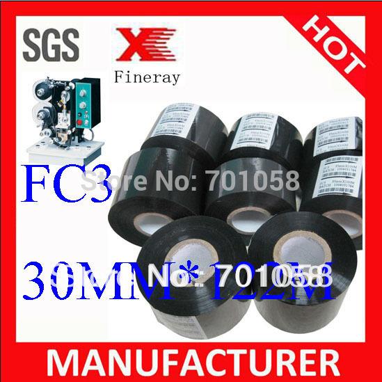 Fineray brand FC3 30mm*122m Heat transfer film / hot transfer film from Xinxiang Fineray Tech(China (Mainland))