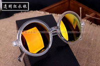 2014   Fashion Women's  Sun Glasses  Round Glasses Free Shipping  Sunglasses Men