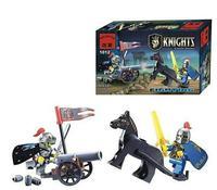 Banbao Classic Toys Enlighten 1012 Kinghts Castle Series soldiers artillery  Children Kids Building Block Learn Educational Toy