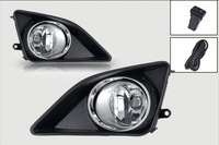 WD-12 Fog light for Toyota COROLLA 2008-2011 clear Front Driving Lamps +Wiring Kit shipping free for HK post