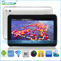 "Freeshiping 5PCS Android 4.4.2 10.1"" ATM7029 Quad Core Tablet PC with Dual Camera Supporting HDMI Bluetooth 1GB DDR 16GB"