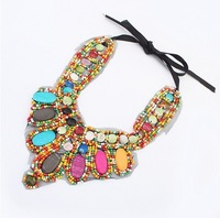 Min.order is $15(mix order) Europe foreign national personality retro Necklace Wholesale Jewelry