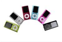 "Newest 1.8"" LCD 4th Digita MP3 MP4 Player Video FM Radio E-Book for 2GB 4GB 8GB 16GB SD TF memory Card 100PCS Free DHL shipping"