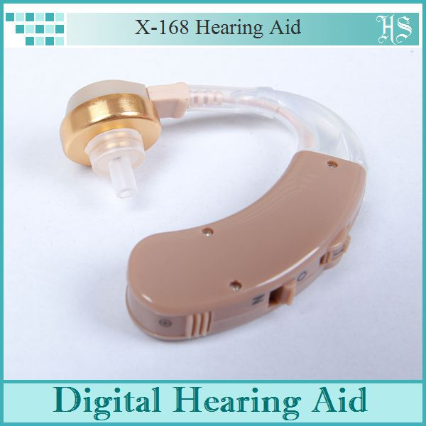 Digital Hearing Aids Aid Behind the Ear Adjustable Sound Amplifier Adjustable Voice Receiver 4 Channels(China (Mainland))