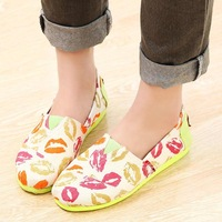 Spring new arrival 2014 women's shoes comfortable flat shoes casual shoes work shoes shallow mouth shoes low-top shoes female
