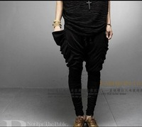 2013 men's clothing casual pants harem pants personality k42