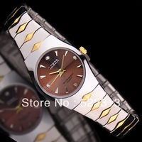 LOFOR Women business elegant quartz watch strip scale stainless steel lovers watches L-6167