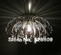 Free shipping modern chrysanthemum design chrome ceiling light  lustres de sala abajur Dia45*H30cm