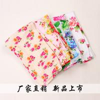 Female Children Summer Cotton Prints Capris 2014 Children's Children Pants 2724