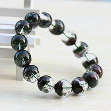 Natural crystal natural bracelet male bracelet(China (Mainland))