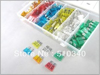 Free Shipping 200PC 5,10,15,20,25,30A Car & Auto Fuse Kit/Assortment/Set
