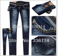 Newest Large Size Women's Denim Jeans/Fashion Ladies' Pants Long Trousers Plus Big Size25-32 Good quality /Spring & Autumn