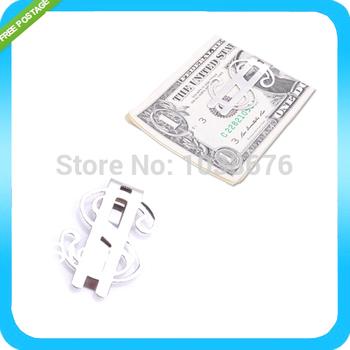 Новый доллар дизайн тонкий деньги клип из нержавеющей стали денежные счета бесплатная ...