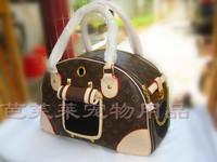 The new dual-purpose pet backpack, old Huagou bag , pet bag , dog oblique backpack , 46CM * 18CM * 28CM, shipping