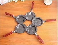 Kitchen Dining Cooking Egg Tools mini egg fry Love heart star rabbit strawberry shell smile flower shape kids children