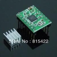 5PCS 3D Printer A4988 Stepper Motor Driver Reprap + 5pcs Self-adhensive Heatsink