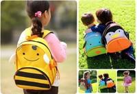 PROMATION! lowest price! Hot children zoo backpack cute kids cartoon animal school bag kindergarten satchels mochila pack bolsas