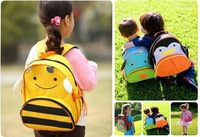 PROMATION! lowest price! Hot children zoo backpack cute kids cartoon animal school bag kindergarten satchels mochila pack bolsas