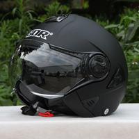 Carthan helmet gdr622 electric bicycle helmet motorcycle helmet double lenses