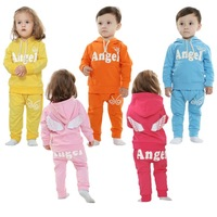 2014 spring new children's clothing baby clothes baby casual suits for men and women to go out piece fitted 1-2-3 years old