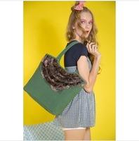 2014 high quality Cotton and linen blend Vintage princess casual sweet shoulder bag message bag handbags