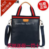 Business casual cowhide man bag one shoulder handbag cross-body bag fashion vintage fashion bag