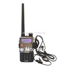2014 New Black BaoFeng UV-5RE Dual Band Radio 136-174MHz&400-520 MHz TWO WAY WALKIE Radio+free shippingwith+free earpiece