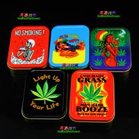 Reggae reggae Large moisturizing box tobacco box weed portable