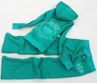 Fashionable casual set thick sweatshirt slim yoga clothes sportswear embroidery diamond