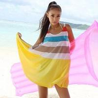 2013 female beach dress holidaying bohemia dress beach dress full dress spaghetti strap 008