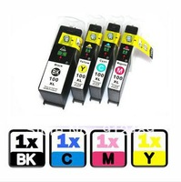 4PK ink cartridges for Lexmark 100XL Impact S301 S305 Interpret S405 printer Ink No. 5