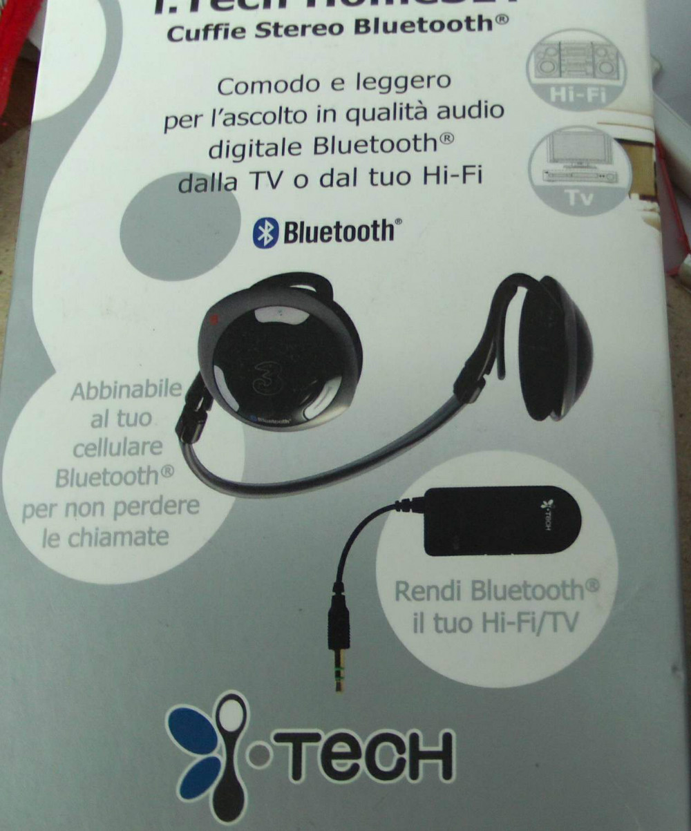 Retail Today's wonderful deals on wireless bluetooth headset I. tech homeset(China (Mainland))
