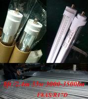 factory outlet 100pcs  2400mm /2.4m  t8 tube  35w 36W led fluorescent  tube FA8S  led single pin tube lamp 8ft led light bulb