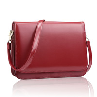 New 2014 women handbag travel bags small bag Wine red genuine leather sheepskin women messenger bags women leather handbags