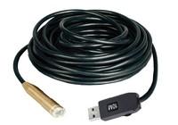 USB 5M 4 LED Waterproof Borescope Endoscope Inspection Snake Tube Camera Free Shipping