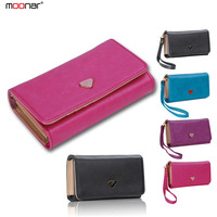 Fashion Candy Color PU Leather Multifunctional Envelope Wallet Purse Clutch Bag Phone Case Cover for Women B702 Free Shipping#S5