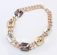 2014 Fashion Hot Sale CCB Gold All-match Women Chain Necklaces & Pendants Luxury Neckalce Wholesale Price