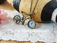 Vintage jewelry pocket watch pocket bike long list of creative lanyards payments nurse pocket watch DIY fashion statement