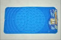 Eco-friendly pvc bath mat quality massage transparent cobblestone mats bathroom