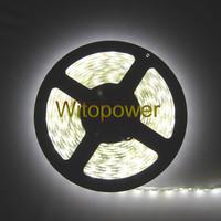 free shipping 16.4FT 5050 LED Strip Nature White 4500K 5M 300 LEDS SMD Light Waterproof 12V