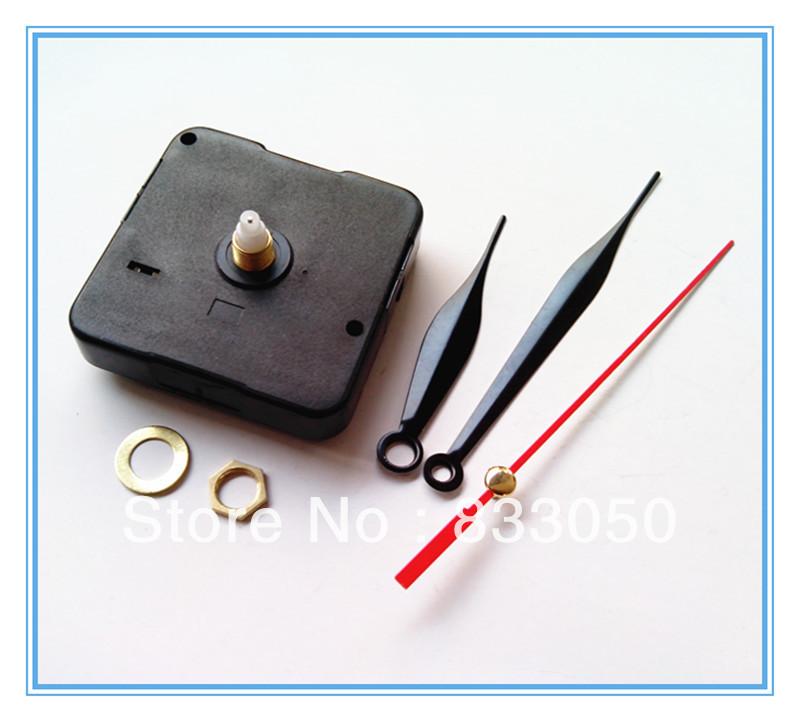 1000pcs Cheap Quartz Clock Mechanism Parts with Three Hands(China (Mainland))