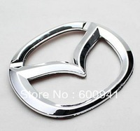 1PCS  Car 3D Badge Emblem Sticker For Mazda Hood Grille Bumper Trail Boot Trunk  ABS-Plastic Chrome Finished