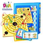 2013 DHA лабиринт игрушки магнитная ручка IQ лабиринт игрушки большие родитель-ребенок 11 головоломки образовательные игрушки(China (Mainland))