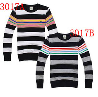 Sweater lacos Men o-neck sweater stripe sweater 218